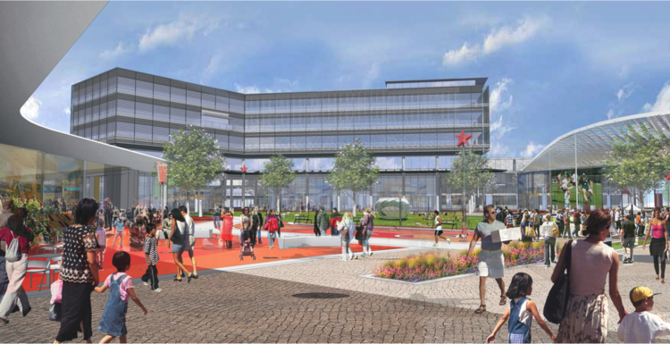 Brown says the entertainment district will finally capture dollars that leave Eastern Jackson County for places like the Country Club Plaza, Zona Rosa and Park Place Leawood.